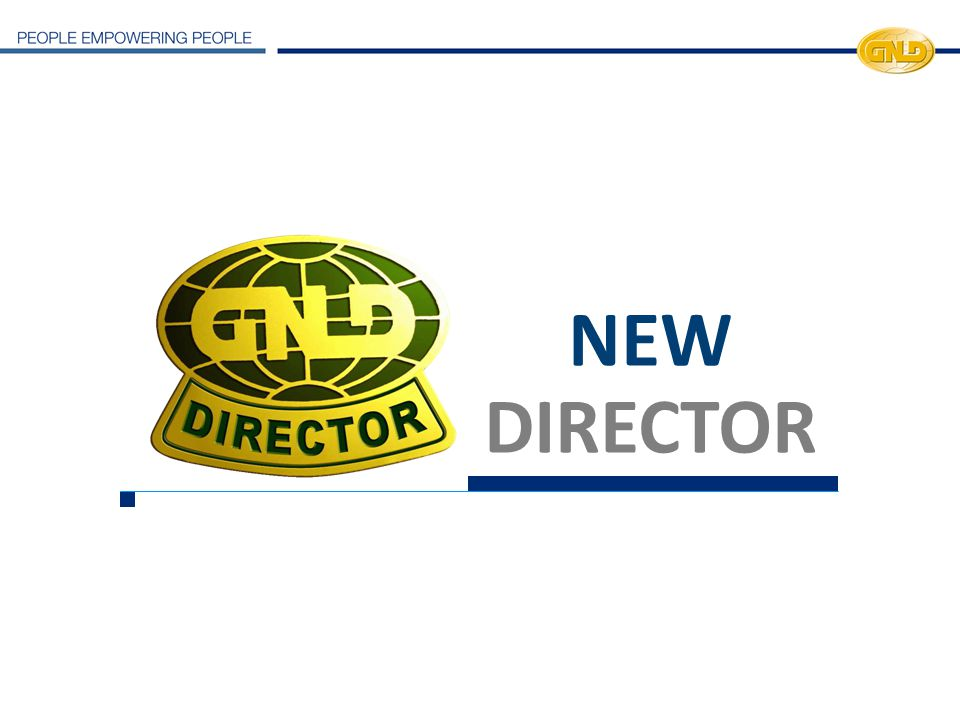 NEW DIRECTOR 23