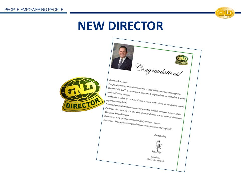 NEW DIRECTOR 24