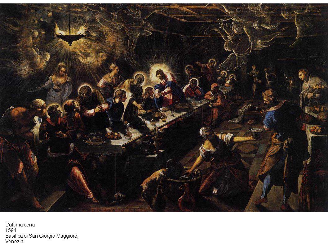L ultima cena 1594 Basilica di San Giorgio Maggiore, Venezia