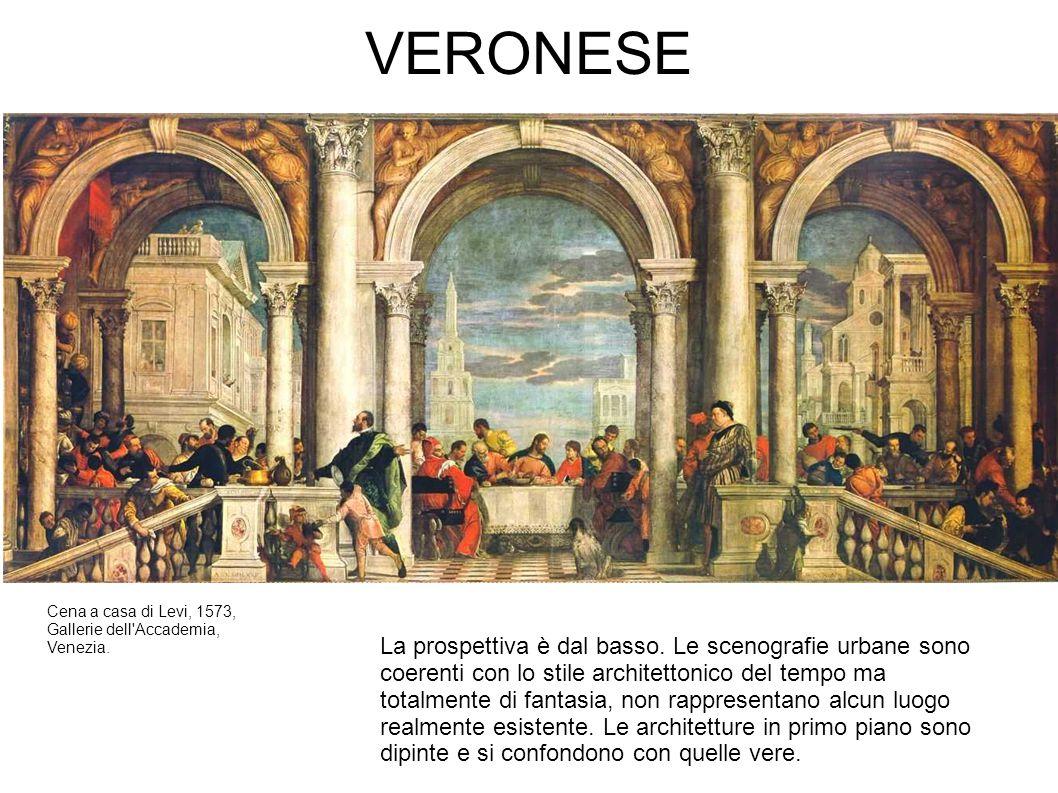 VERONESE Cena a casa di Levi, 1573, Gallerie dell Accademia, Venezia.