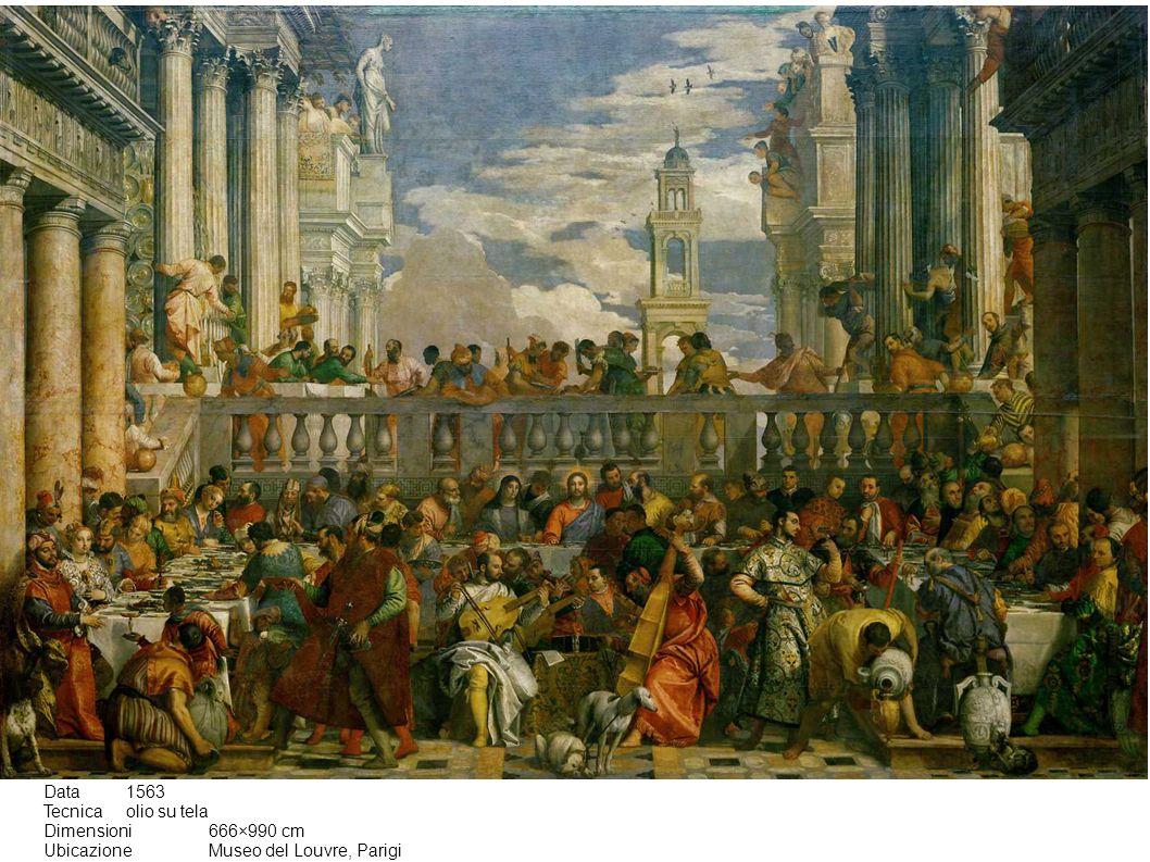 Data 1563 Tecnica olio su tela Dimensioni 666×990 cm Ubicazione Museo del Louvre, Parigi