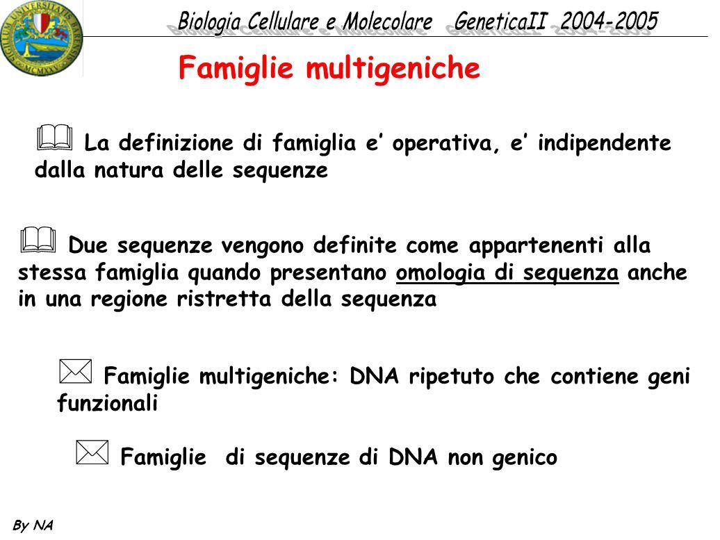 Famiglie multigeniche