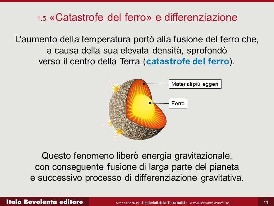1.5 «Catastrofe del ferro» e differenziazione