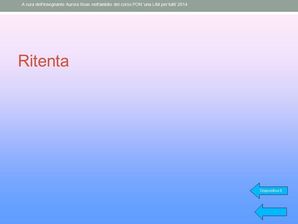 A cura dell'insegnante Aurora Roas nell'ambito del corso PON 'una LIM per tutti' 2014