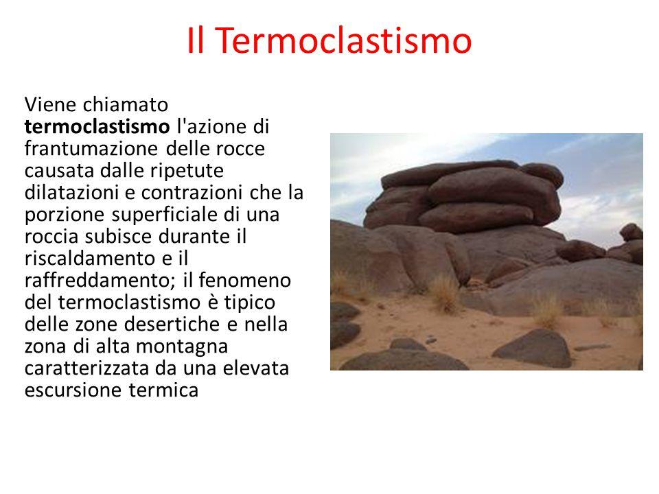 Il Termoclastismo