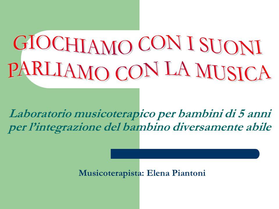GIOCHIAMO CON I SUONI PARLIAMO CON LA MUSICA