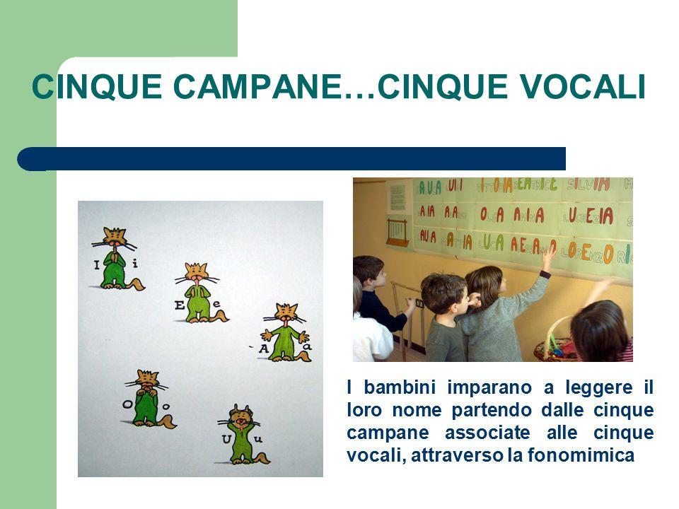 CINQUE CAMPANE…CINQUE VOCALI