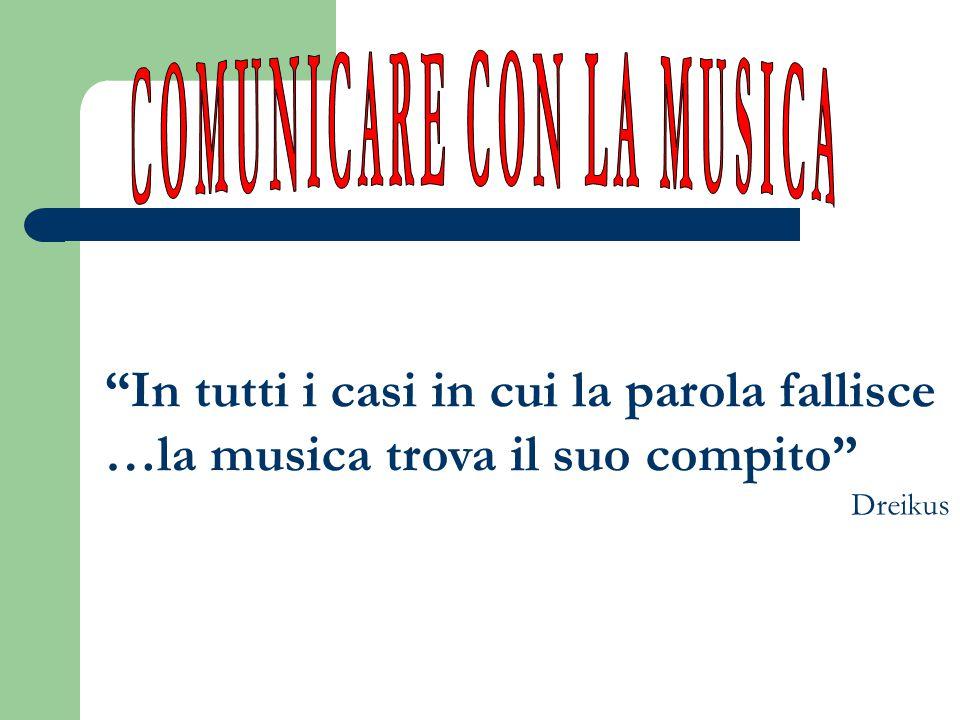 COMUNICARE CON LA MUSICA