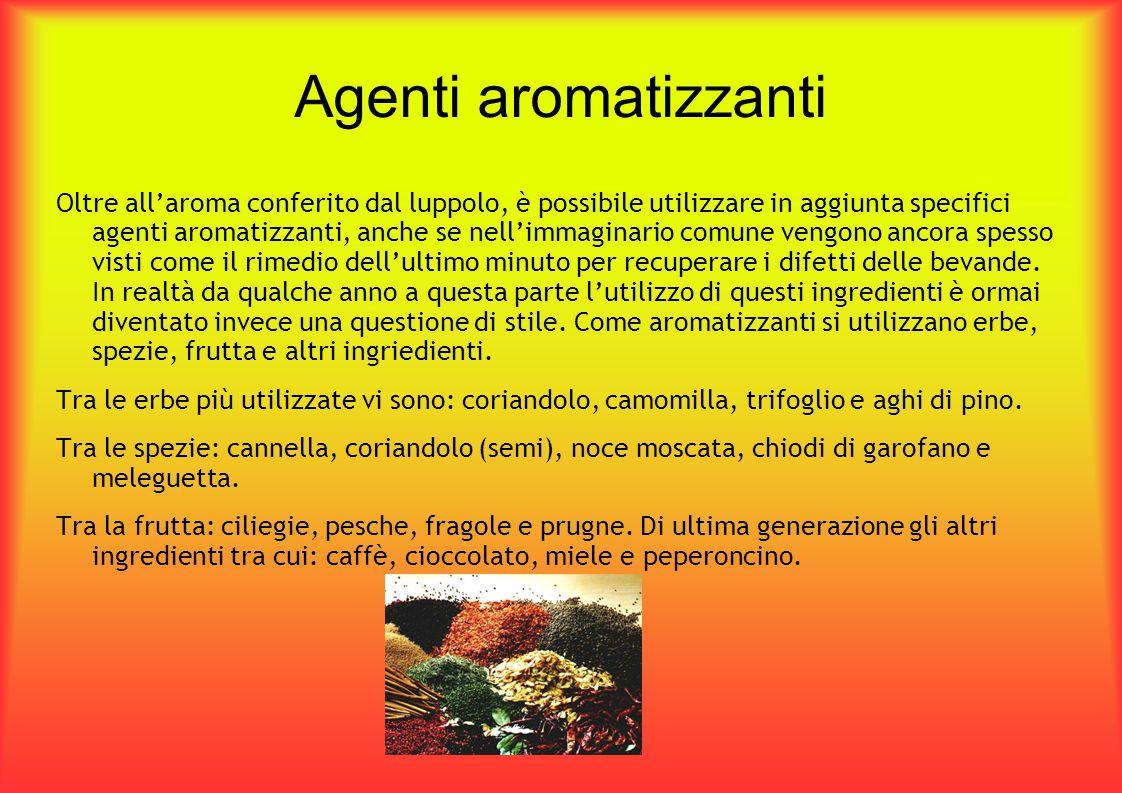 Agenti aromatizzanti