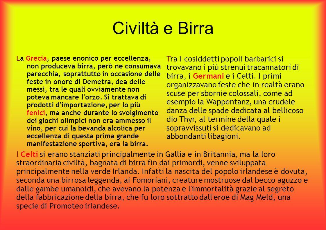 Civiltà e Birra