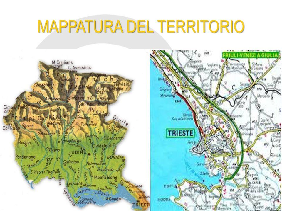 MAPPATURA DEL TERRITORIO