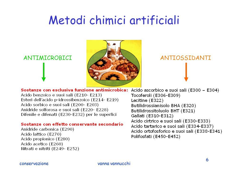 Metodi chimici artificiali