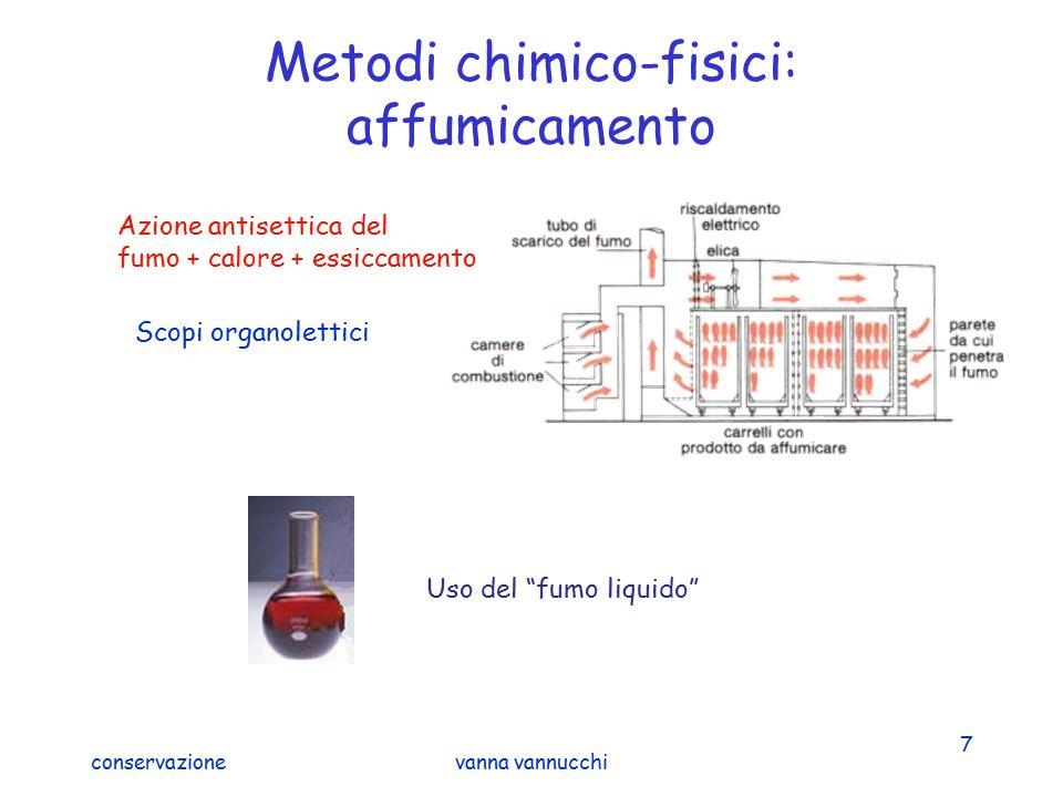 Metodi chimico-fisici: affumicamento