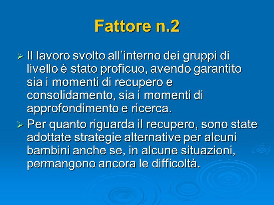 Fattore n.2