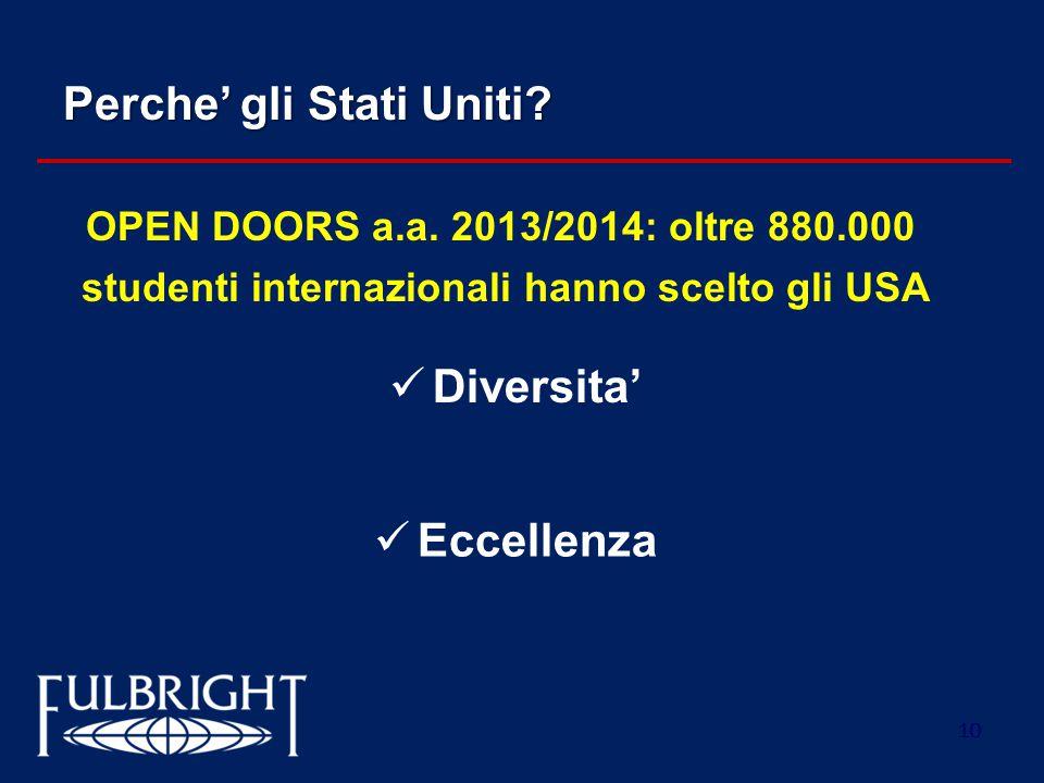 studenti internazionali hanno scelto gli USA
