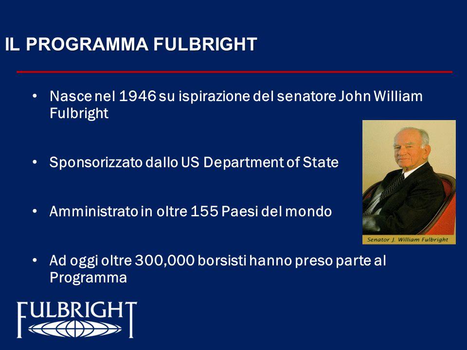 IL PROGRAMMA FULBRIGHT