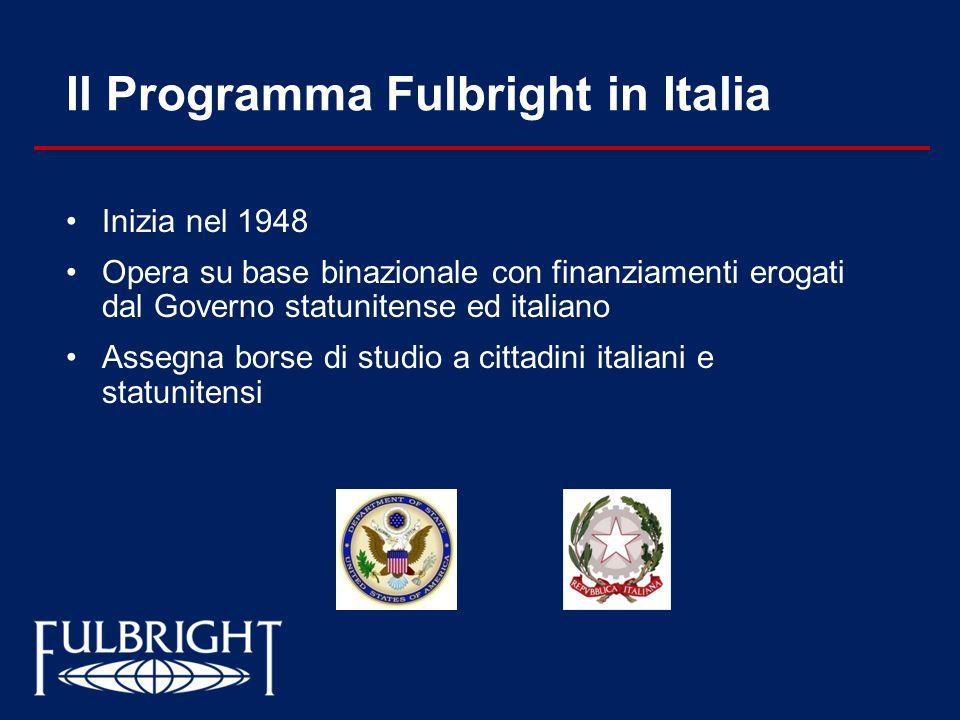 Il Programma Fulbright in Italia