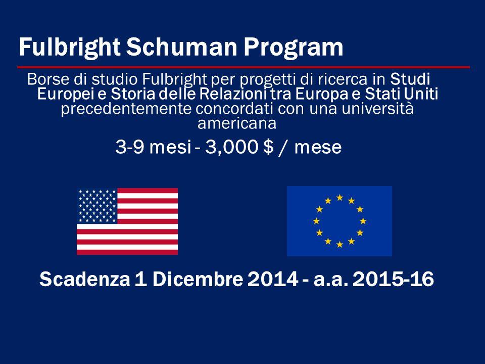 Fulbright Schuman Program