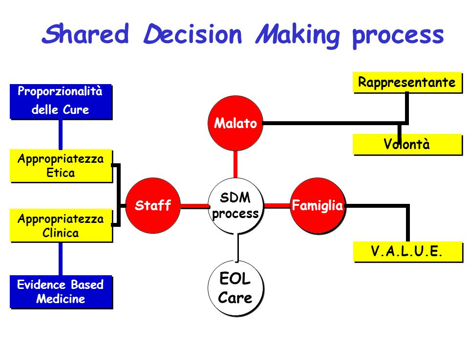 Shared Decision Making process