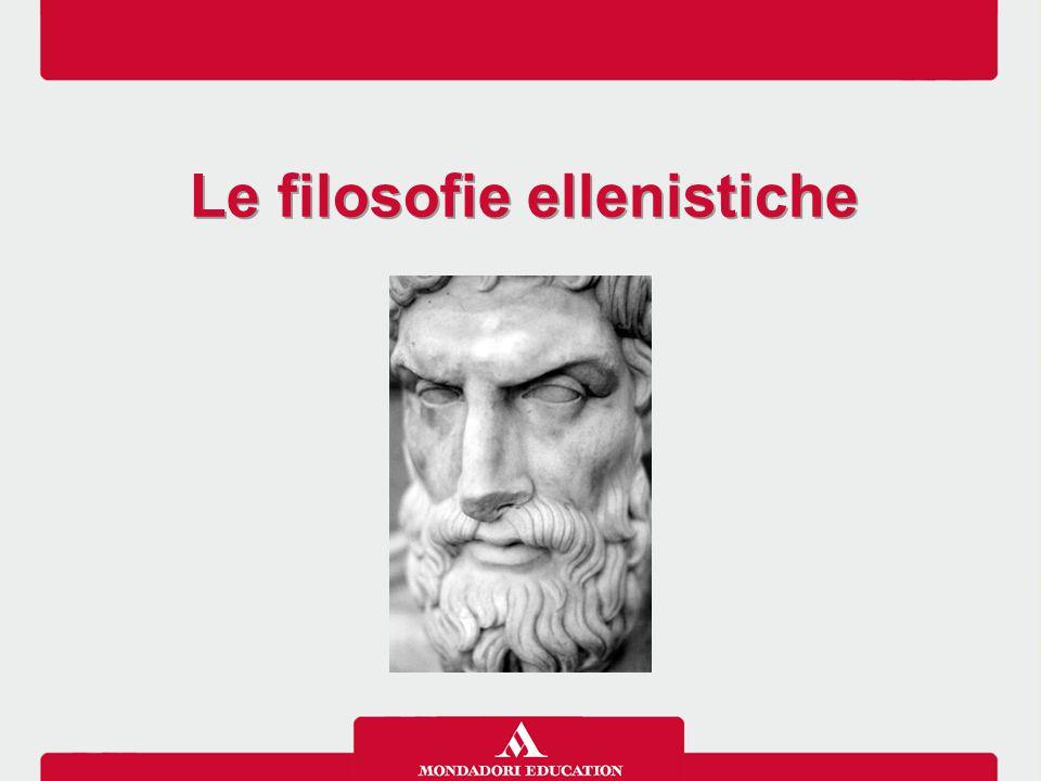 Le filosofie ellenistiche