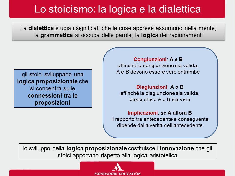 Lo stoicismo: la logica e la dialettica