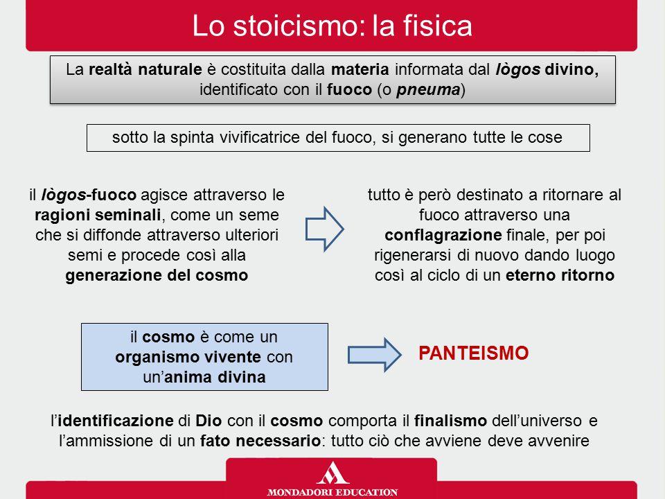 Lo stoicismo: la fisica