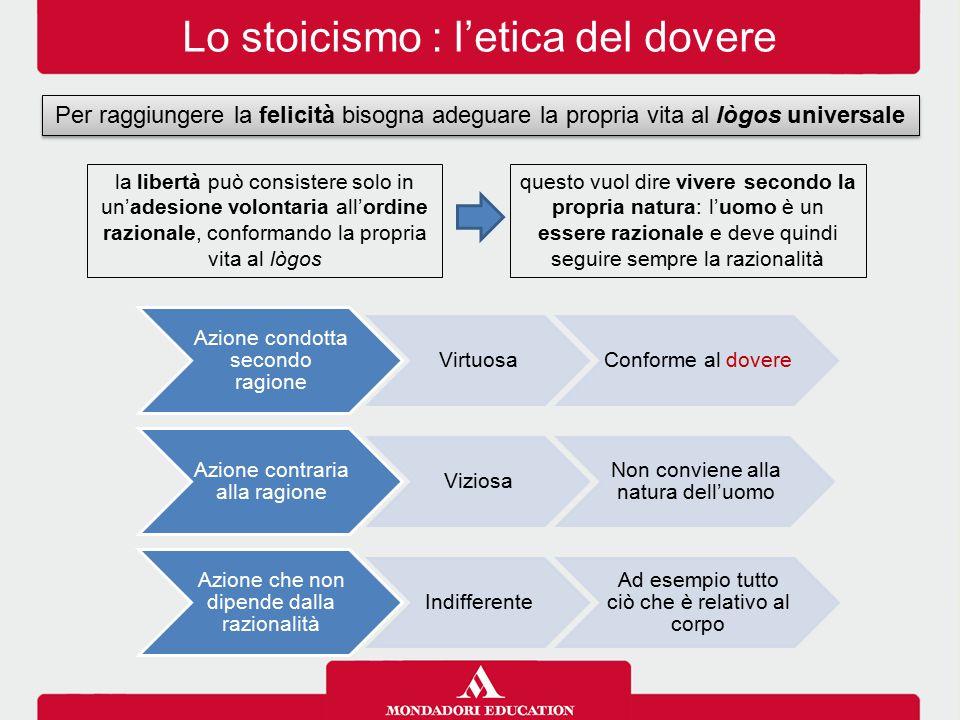 Lo stoicismo : l'etica del dovere