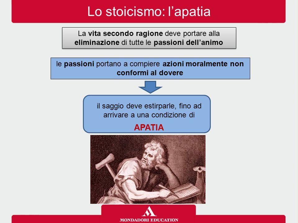 Lo stoicismo: l'apatia