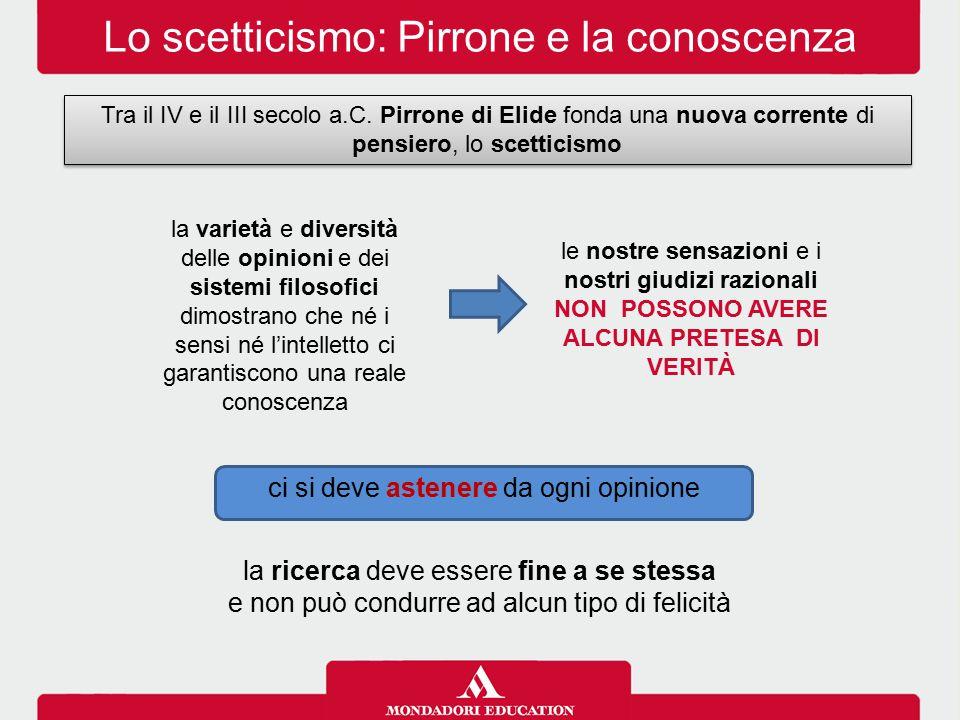 NON POSSONO AVERE ALCUNA PRETESA DI VERITÀ