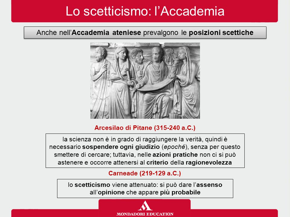 Arcesilao di Pitane (315-240 a.C.)