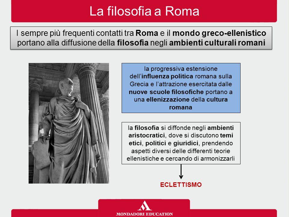 La filosofia a Roma