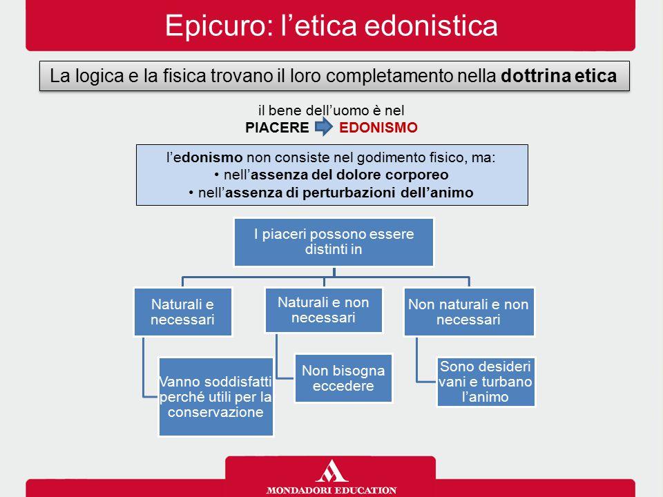 Epicuro: l'etica edonistica