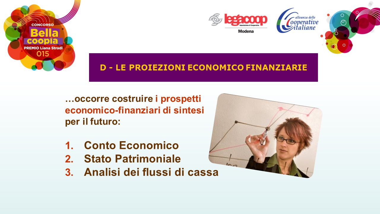D - LE PROIEZIONI ECONOMICO FINANZIARIE