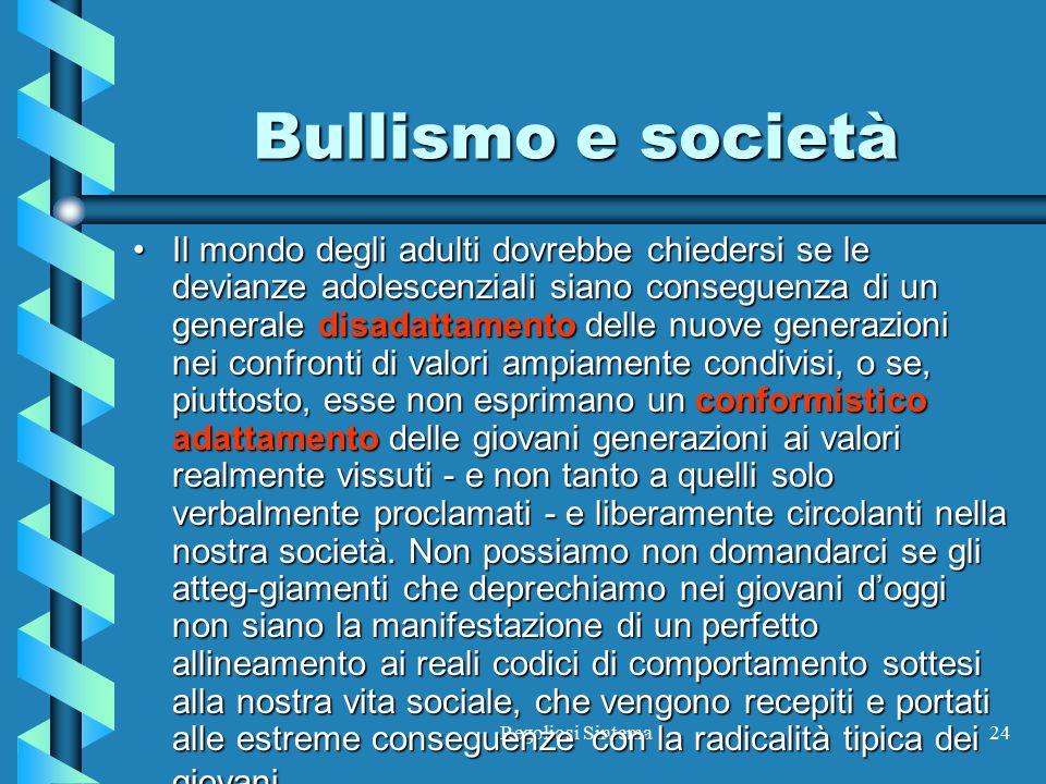 Bullismo e società