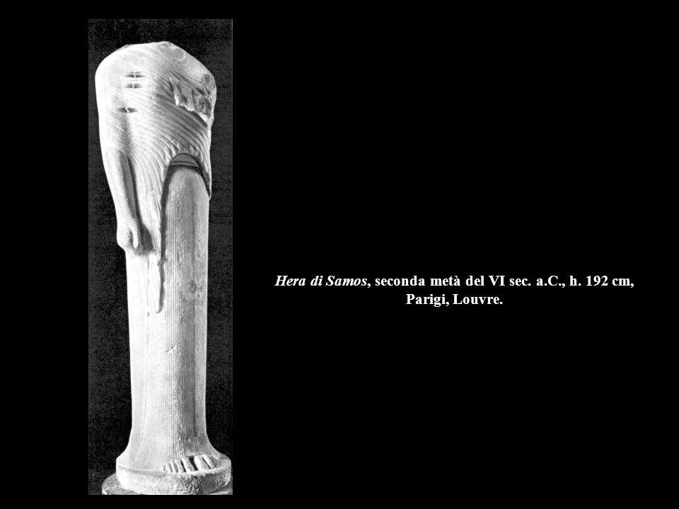 Hera di Samos, seconda metà del VI sec. a. C. , h