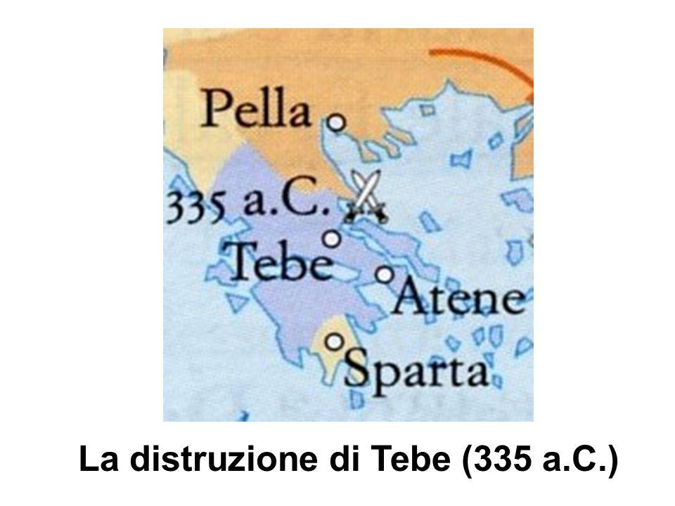 La distruzione di Tebe (335 a.C.)