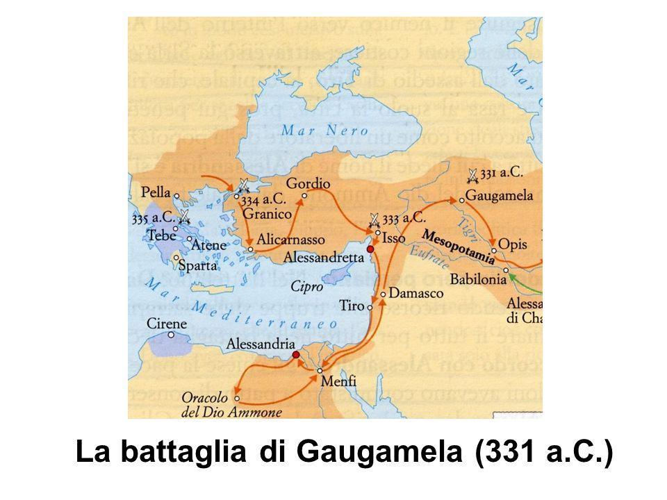La battaglia di Gaugamela (331 a.C.)