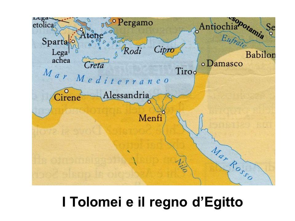 I Tolomei e il regno d'Egitto