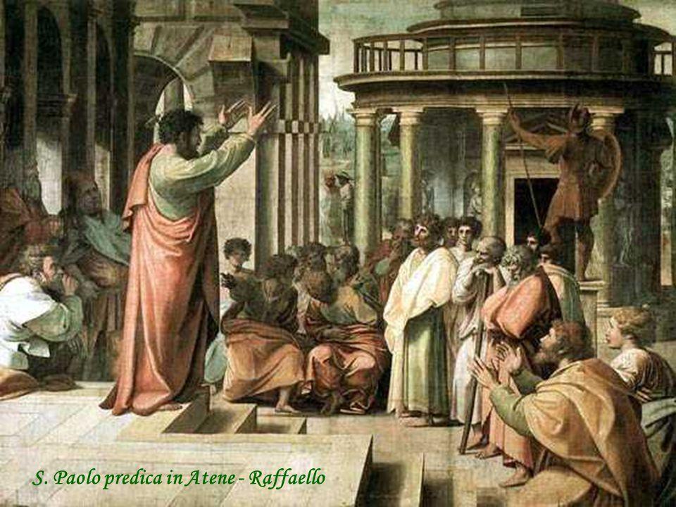 S. Paolo predica in Atene - Raffaello