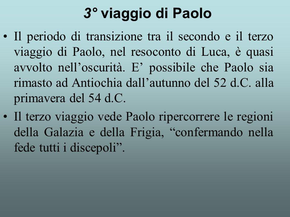 3° viaggio di Paolo