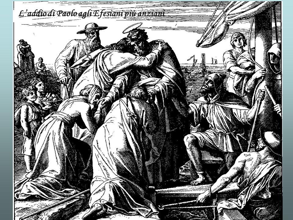 L'addio di Paolo agli Efesiani più anziani