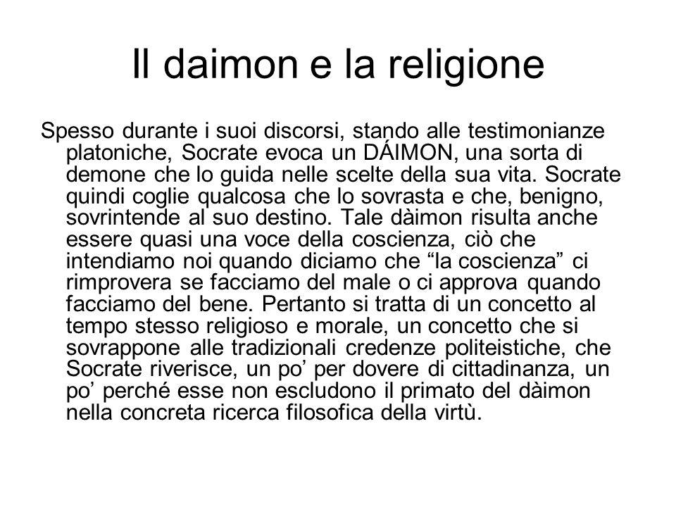 Il daimon e la religione