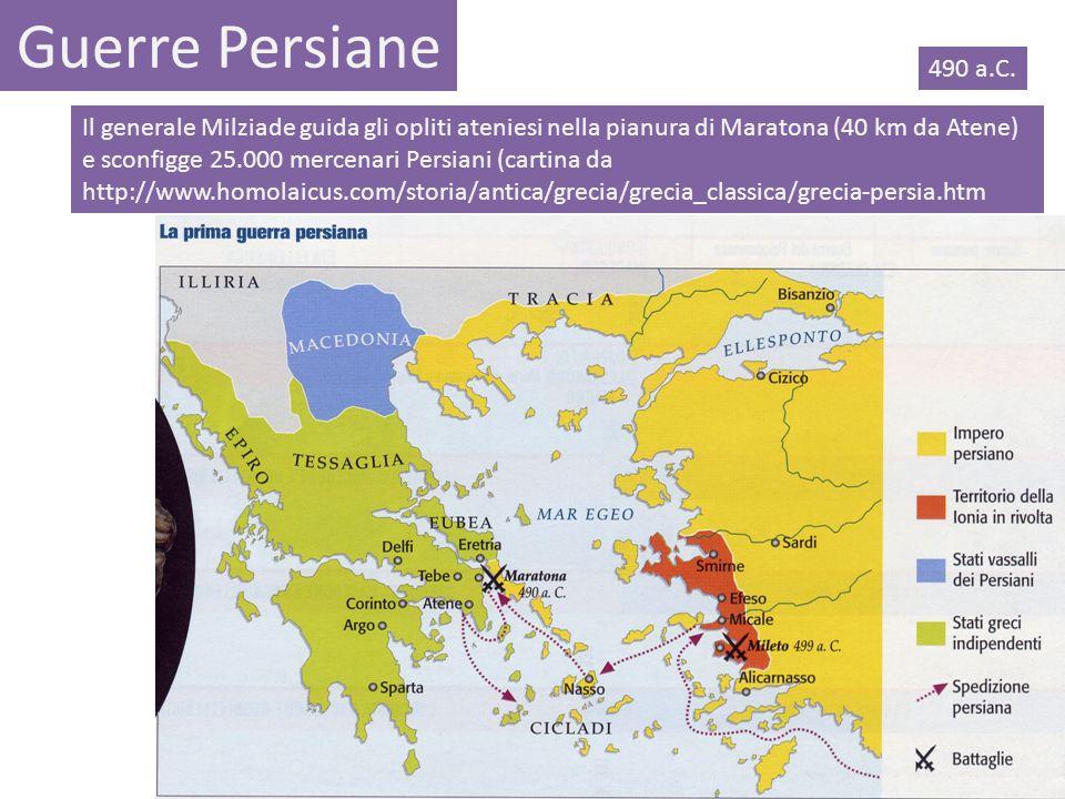 Guerre Persiane 490 a.C.