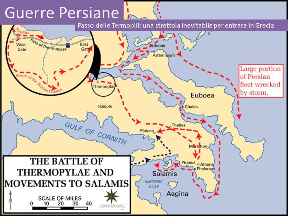 Guerre Persiane Passo delle Termopili: una strettoia inevitabile per entrare in Grecia