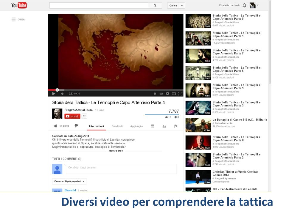 Diversi video per comprendere la tattica