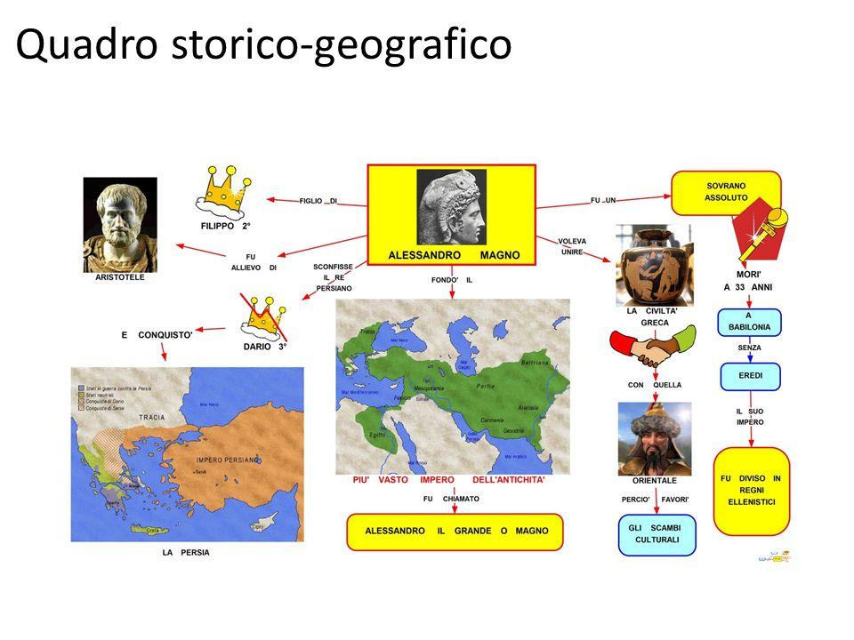 Quadro storico-geografico