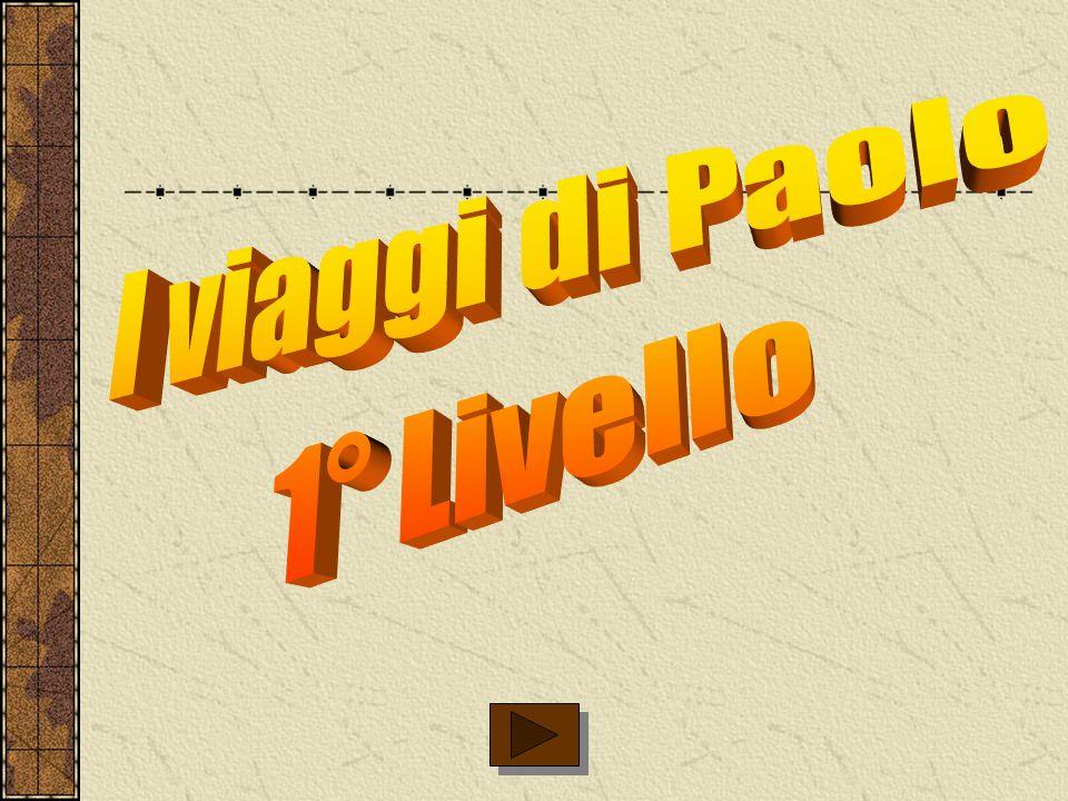 I viaggi di Paolo 1° Livello