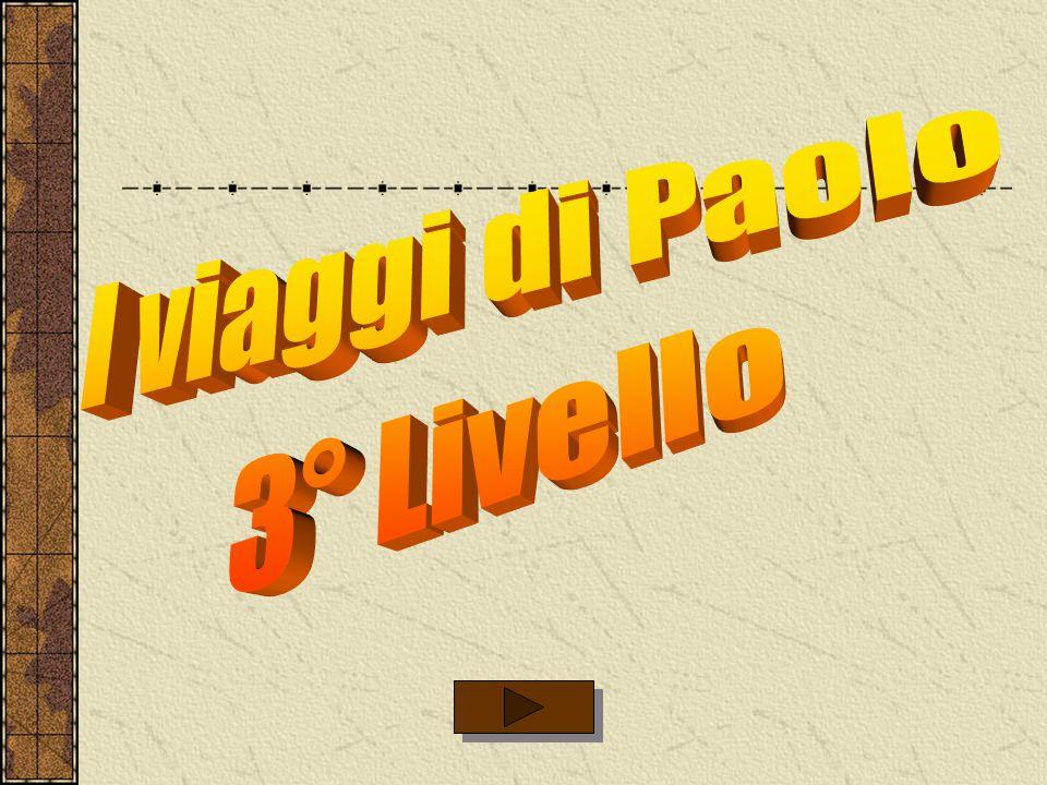 I viaggi di Paolo 3° Livello