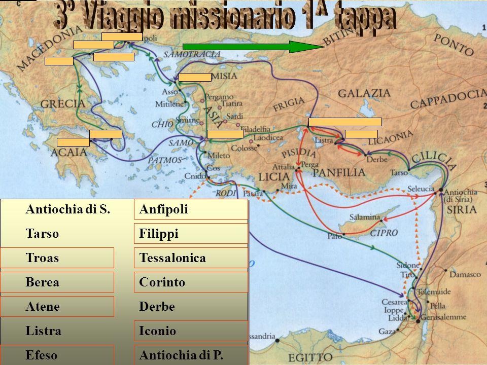 3° Viaggio missionario 1^ tappa