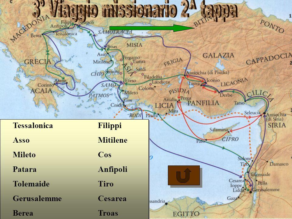 3° Viaggio missionario 2^ tappa